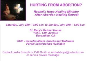 ABORTION RETREAT FACEBOOK AD